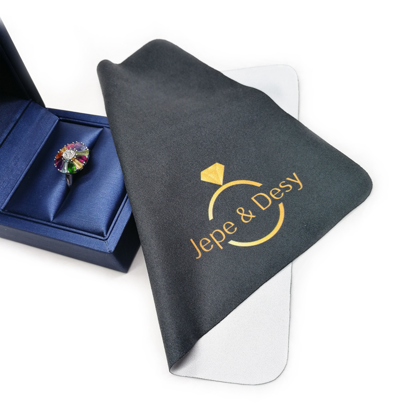 Custom Microfiber Polishing Cloth For Jewelry