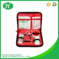 Anesthesia equipments wholesale emergency medical travel red cross first aid bag