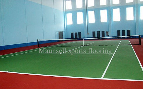 Tax exemption pvc flooring for tennis court and whole web bottom price