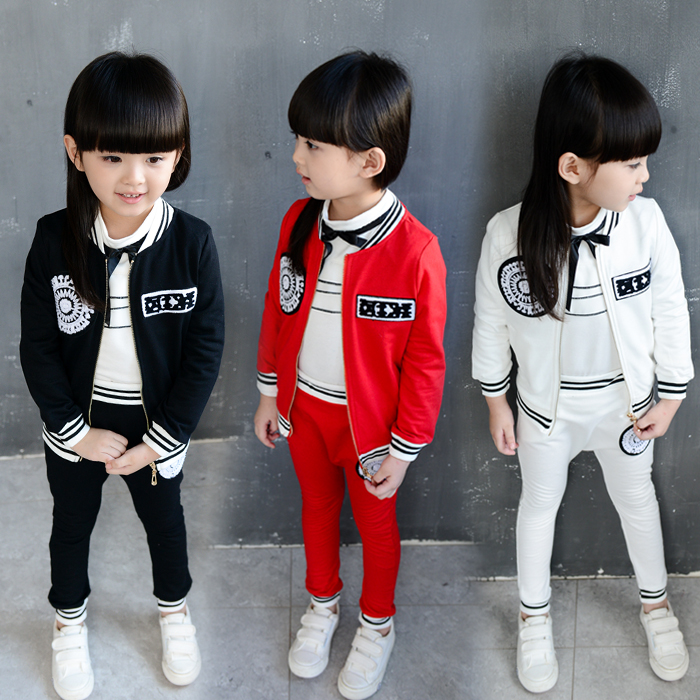 Factory Price Children's Clothing Sets Kids Girls Frock Design Sportswear Suit Of Online