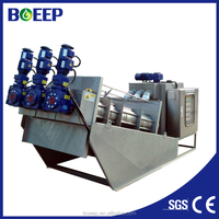 High processing rate sludge dewatering screw press for dairy farming wastewater treatment (MYDL353)