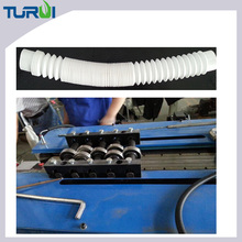 Manufacturer of PVC plastics corrugated tubes forming making machine made of PA PE PP PVC EVA extrusion line