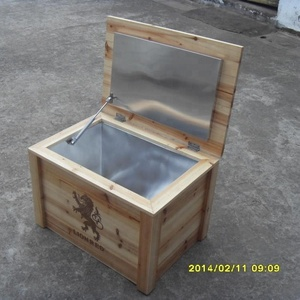 Wooden Frozen Drinking Coolerwood Food Container