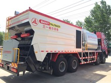 expo synchronous chip sealer truck
