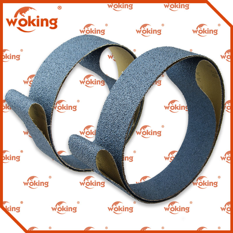 Cast Iron Polishing Grinding Abrasive Cloth Zirconia Oxide Emery Sanding Belts
