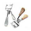 Beauty Eyelash Tools Diamond Plastic Handle Gold Eyelash Curler