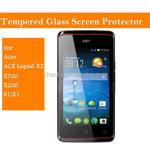 For acer liquid E3/V360 Liquid E1/V370/ E700/E200/S1 glass screen protector phone accessaries factory