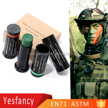 Best Quality Camouflage Face Paint 3colors Face Painting Kit For