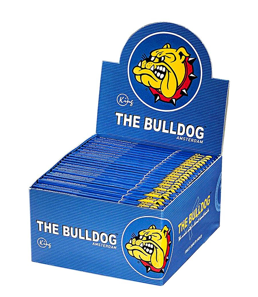 The Bulldog Rolling Papers King Size - Box of 50