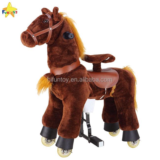 Funtoys Ce Life Size Moving Mechanical Horse Animal Toy Buy Life