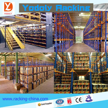 Warehouse Storage Loft,steel Loft,loft Type Racking