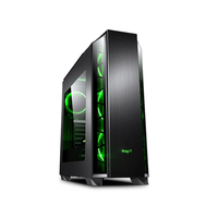 Ningmei Family Gaming Desktop PC Core i7 8700/GTX1660 Computer Set Desktop