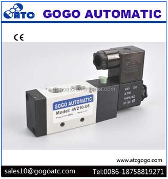 GOGO dustproof pneumatic valves solenoid 4v210 08_350x350 gogo dustproof pneumatic valves solenoid 4v210 08 buy 4v210 08 airtac 4v210-08 wiring diagram at soozxer.org
