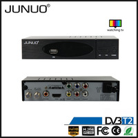 JUNUO china factory OEM ali or mstar time shift suport HDD h.264 MPEG4 georgia set top digital box