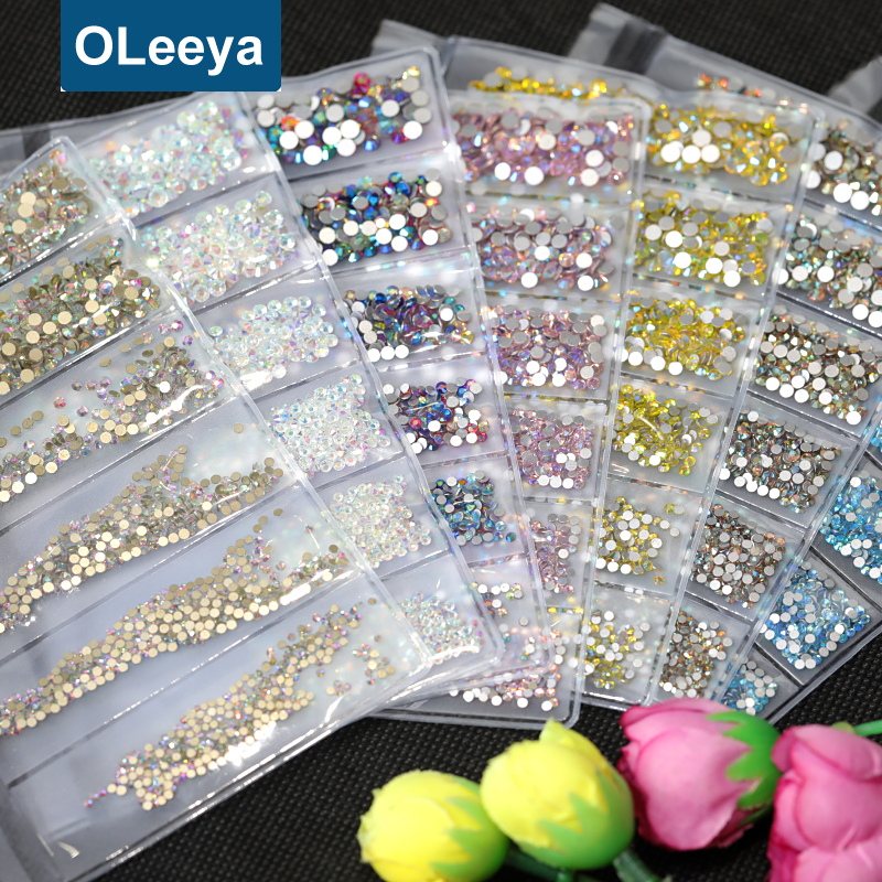 Wholesale Price <strong>Glass</strong> Flat Back Non Hotfix Rhinestone Craft <strong>Art</strong> Crystal Rhinestones <strong>Nails</strong>