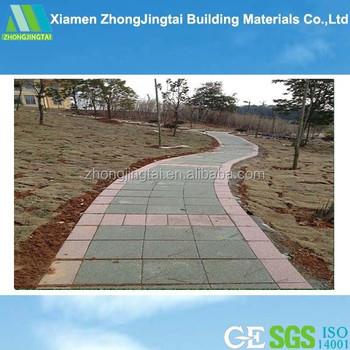 Keramische Tegels Oprit.Bouwmateriaal Keramische Tegels Doorlatend Beton Bestrating Oprit