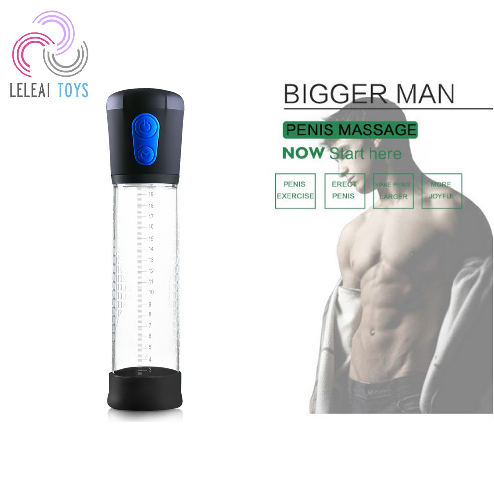 Automatic Electric ED Medical Treatment Therapy Improving Youth Male Erection Penis Size Man Vacuum Penis Pump