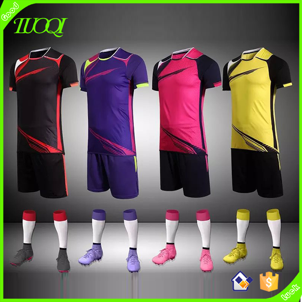 Best Selling Custom New Design Cool Men's Polyester Sublimation Jersey Football
