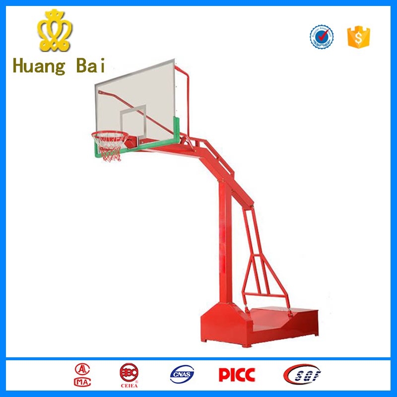 Outdoor glass fiber reinforced plastic basketball rebounds for the playground