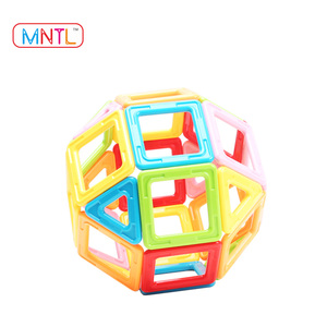 MNTL 82 Pieces Educational Toy Magnetic Building Blocks to Kids for Fun and Family Time