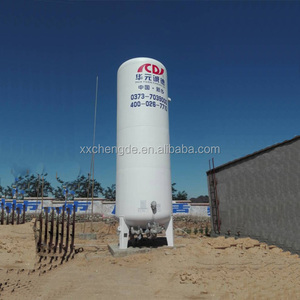 20m3 Vacuum Insulation Cryogenic Liquid Oxygen Storage Tank
