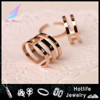 China quality manufacturer assemble fashion jewellery ladies gold finger ring wholesale