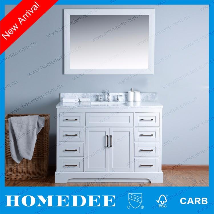 Homedee Solid Wooden Bathroom Vanity,Used Bathroom Cabinet