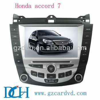 Car Dvd With Gps For Honda Accord 7 Ws 9187