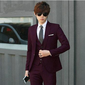 Mode 11 Couleurs Hommes Slim Fit Costumes Grande Taille Xs 4xl Costumes De Mariage Pour Hommes Avec Pantalon Et Cravate Hommes Vêtements Formels Buy