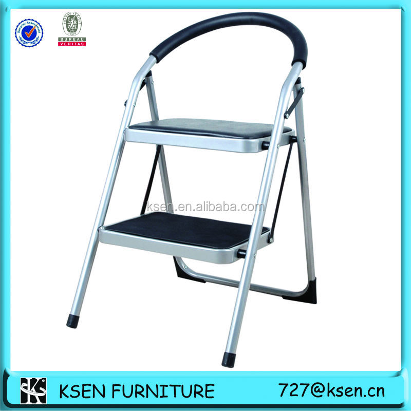 Fashion Folding 2 Padded Step Stool With Soft Cusion Seat (kc-7012d) - Buy Padded Step StoolPortable Folding Step StoolFolding Metal Step Stool Product on ...  sc 1 st  Alibaba : step stool seat - islam-shia.org