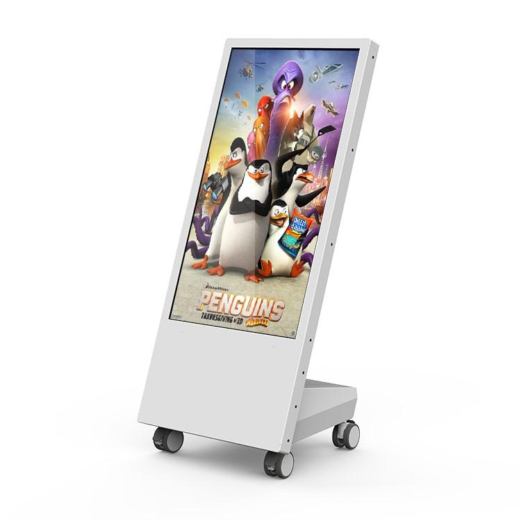 Floor stand 32 inch advertising display digital signage kiosk wifi removable signage display digital