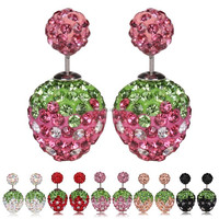 2015 Wholesale Fashionable stud earring jewelry supplies for ladies