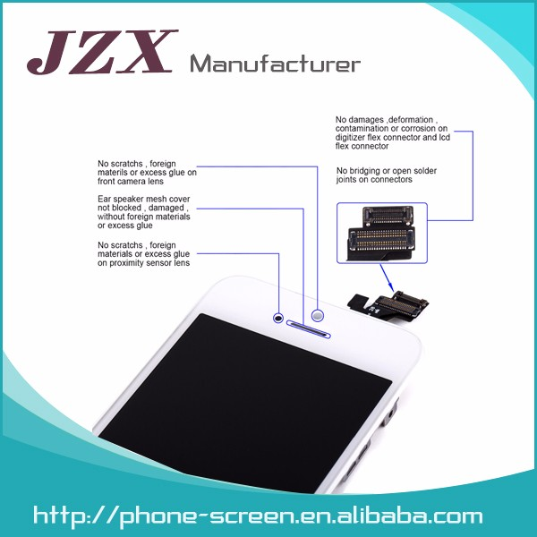 4 zoll Handy LCD für iPhone 5 s LCD Digitizer Komplette