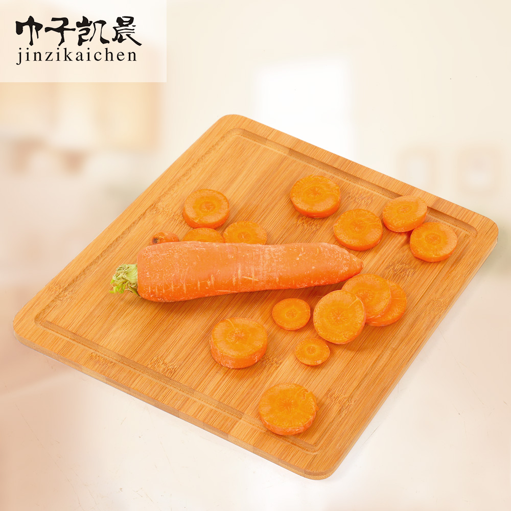 Natural Antimicrobial 2 Sided Dual Use 100% FDA Approved Natural Trapezoid Cutting Board