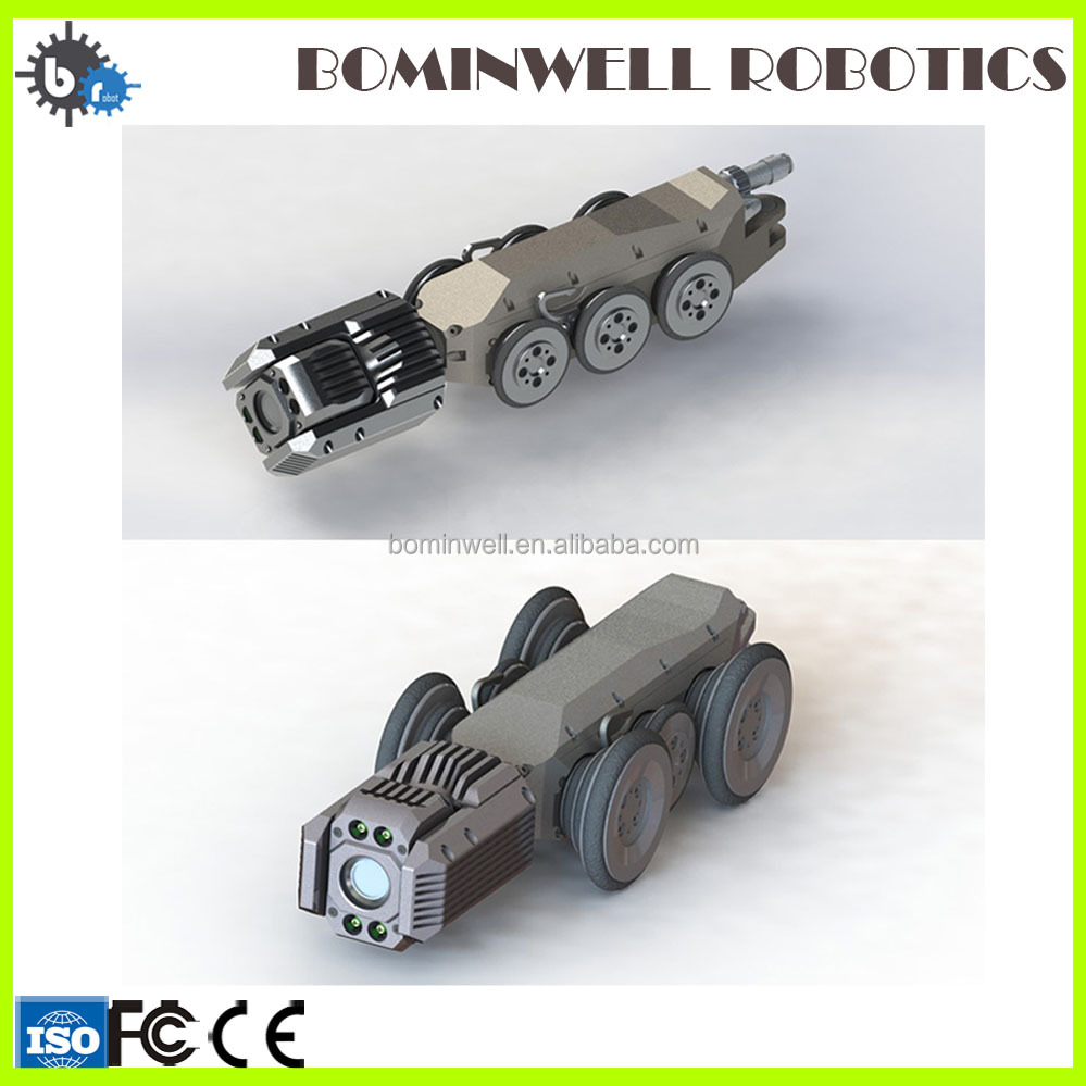 Bominwell professional 100-600mm sewer well inspection cleaning pipeline robot