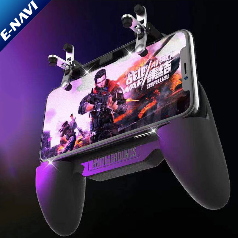 Smart Phone Mobile Gaming Controller Handle Grip for pu bg fire button pu bg fortnite game