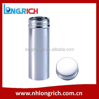 Round Aluminium Tea Can / Metal Canister Wholesale