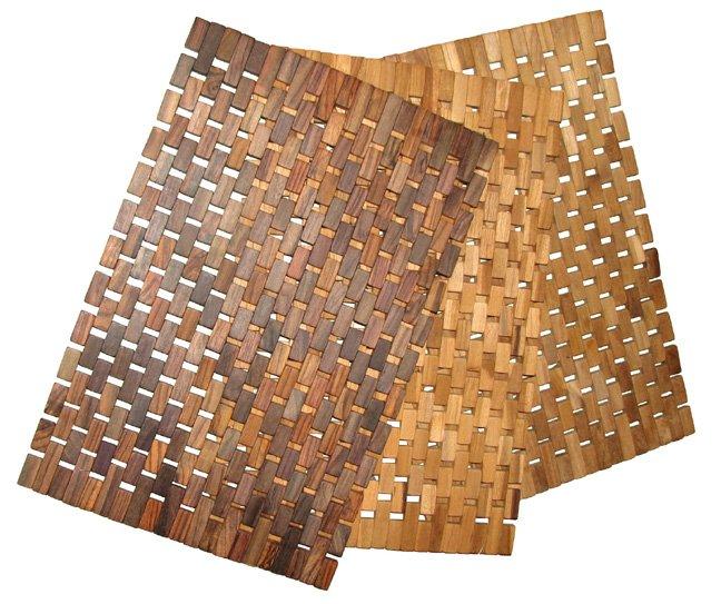 Tapis de bain en bois tapis de salle de bain id de produit for Tapis salle de bain grande taille