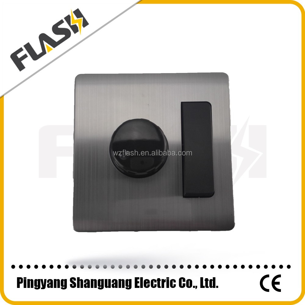 1 gang light control dimmer switch for home