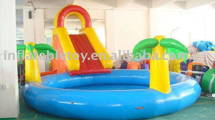 Hot Selling Inflatable Swimming Pool With Slide