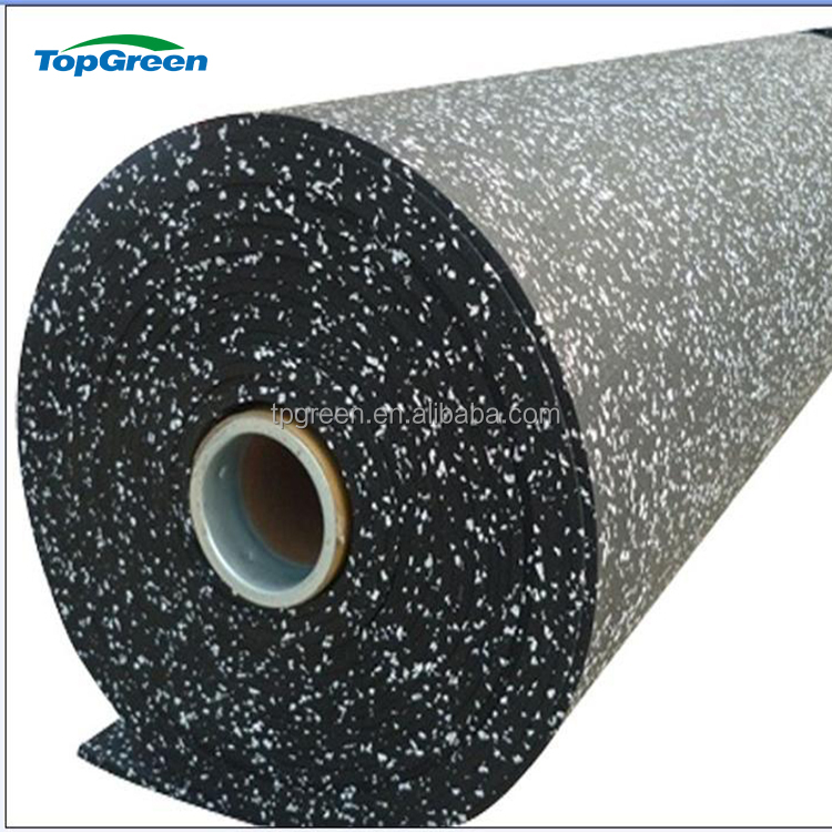 manufacture colored cheap epdm gym rubber flooring