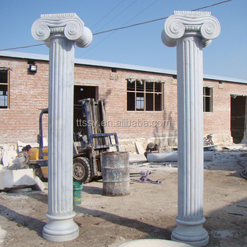 Decorative Garden Stone Pillar