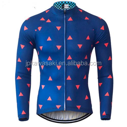 High quality Blank Bicycle Shirts Long Sleeve Custom Cycling Jerseys