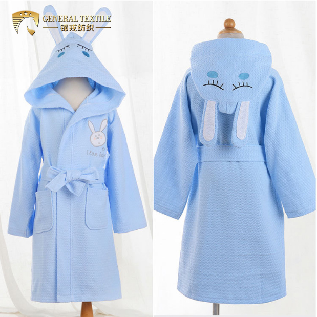 Hooded Towel for Kids Toddlers Bath Beach Poncho Bathrobe with Hood