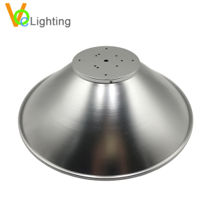 Website Business High Bay LED Lighting Parts Aluminum Light Covers