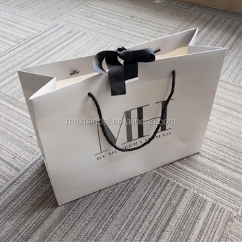 china factory custom paper shopping bags with your own logo