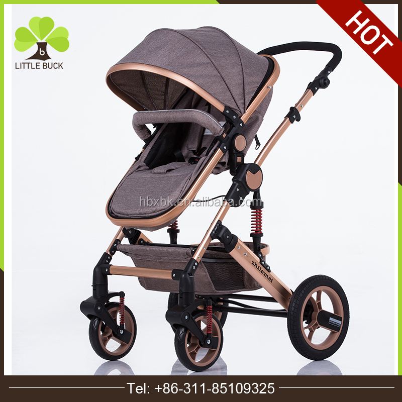 CE standard baby strollers 3 in 1 leather / lightweight easy go stroller for sale / the best baby carrier in Europe