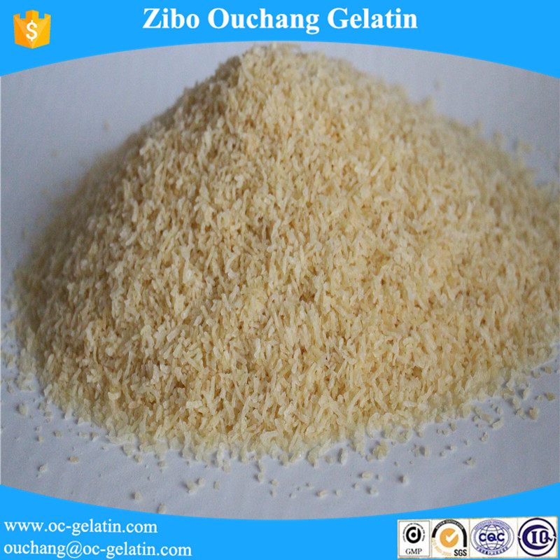 high quality industrial gelatin use for edition binding material