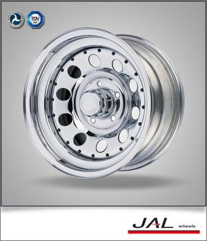 2015 mejor calidad de cromo de acero llantas 4x4 para jeep wrangler
