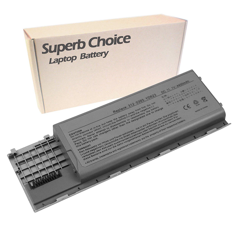 DELL Latitude D-620 D-630 TD117 TD175 TG226 Laptop Battery - Premium Superb Choice® 6-cell Li-ion Battery